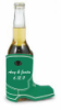 Personalized beverage holder in shape of a boot | affordable favor