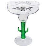 Personalized and affordable 12 oz. Novelty Margarita Glass for your wedding reception, birthday party or corporate event
