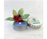 Holiday Scented Candle in Personalized Tin