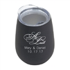 Personalized stainless steel wine tumbler