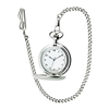 Personalized stainless steel pocket watch groomsmen gits
