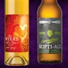Custom imprinted full color beer labels