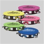 Neon Colored Personalized Wedding Tambourines