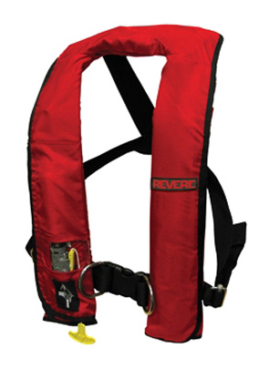 45-61020-101R / ComfortMax Inflatable PFD Manual w/ Harness Red, Type V