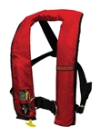 45-61021-101R / ComfortMax Inflatable PFD Auto w/ Harness Red, Type V