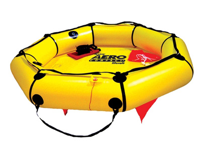 45-AC4V / 4 person Aero Compact Liferaft