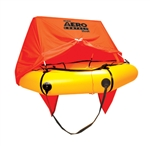45-AC4V-K / 4 person Aero Compact Liferaft w/canopy & regular kit