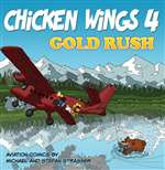 B-CHW-104, Chicken Wings 4- Gold Rush- Comic Book