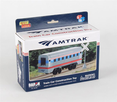 BL052 - Amtrak 136 Piece Construction Toy
