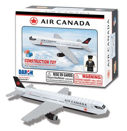 BL287-1 - Air Canada 55 Piece Construction Toy