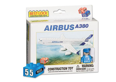 BL380 - Airbus A380 55 Piece Construction Toy