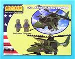 BL5561 - Attack Helicopter 140 Piece Construction Toy