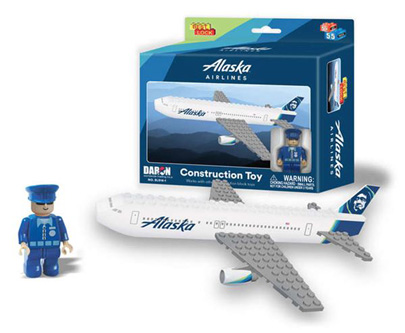 BL814-1 - Alaska 55 Piece Construction Toy New Livery