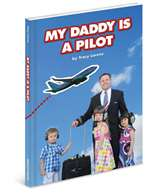 B-LOR-001, My Daddy Is A Pilot- Hardcover- Lorenz