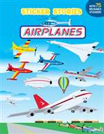 B-PNG-533, Sticker Stories - Airplanes- Miller
