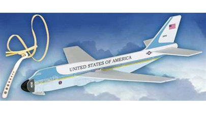 LY100 - Air Force One Aircraft Glider W/launcher