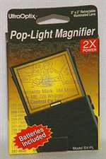 M-ULX-001, Magnifier- Pop-Light- W/ Batteries