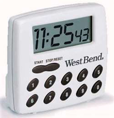 M-WEB-005, West Bend Timer / Stopwatch #40005X