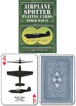 N-USG-100, Wwii Airplane Spotter Playing Cards