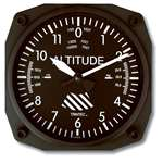 TRN-9060, Wall Clock- Altimeter