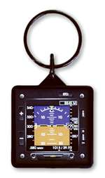 TRN-KC-HOR, Keychain- Efis Artificial Horizon