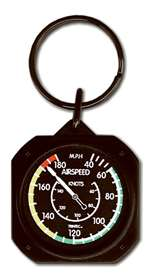 TRN-KC61, Keychain- Airspeed Indicator