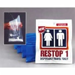 O-AMK-002, Restop Disposable Travel Toilet- 2-Pk/K