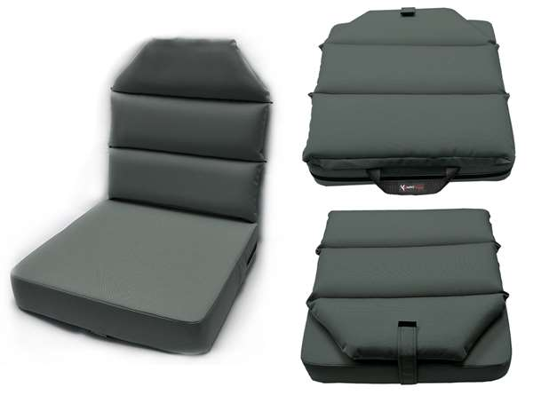 3adc44e73be Seat Cushion- 3inch Bottom- 2inch Back- Gray available from the ...