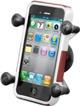 Seat Rail Mount to Cellphone X-Grip (kit)