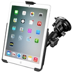 Suction Mount to iPad Air snap cradle (kit)