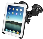 Double Suction Mount to iPad Air snap cradle (kit)
