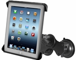Double Suction Mount to iPad Air Spring cradle (kit)
