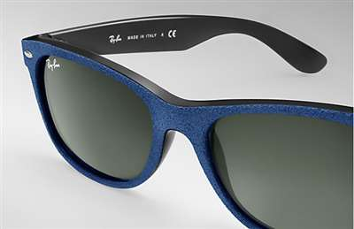 a0a70f8ba44 Sunglasses - Ray-Ban RB2132-6239 - New Wayfarer - Black top Blue ...