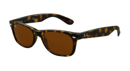 bc8577c325 Sunglasses - Ray-Ban RB2132-902 57 - New Wayfarer - Tortoise w Crystal  Brown Polarized lens
