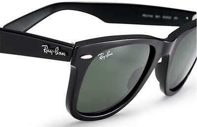 6e4bfa42e5bfe Sunglasses - Ray-Ban RB2140-901 - Wayfarer - Black w Crystal Green lens