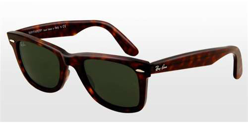 c59c6b86bf Sunglasses - Ray-Ban RB2140-902 58 - Wayfarer - Tortoise w Crystal Green  Polarized lens