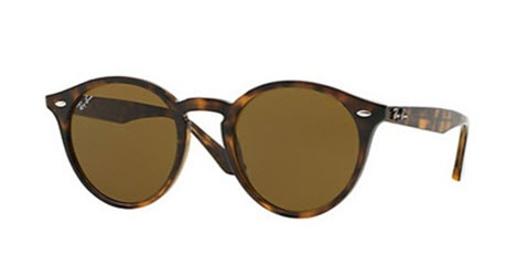 RB2180-710/73  - Dark Havana w/Dark Brown lens