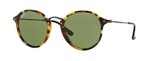 RB2447-11594E  - Spotted Green Havana w/Green lens