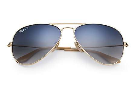38db8070570 Sunglasses - Ray-Ban RB3025-001 78 - Aviator Large Metal - Gold w ...
