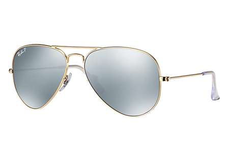 Ray-Ban RB3025 Sonnenbrille Gold 112-W3 Polarisiert 58mm TPPH426