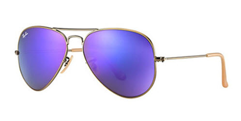 4a86fe98cba5 Sunglasses - Ray-Ban RB3025-167 1M - Aviator Large Metal - Brushed ...