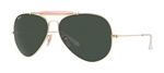 RB3029-L2112 Outdoorsman Ii - Arista w/Crystal Green lens