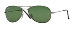 RB3362-004/58 Cockpit - Gunmetal w/Crystal Green Polarized lens