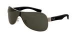 RB3471-004/71 Rb3471 - Gunmetal w/Green lens