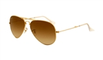 RB3479-001/51 Aviator Folding - Arista w/Crystal Brown Gradient lens