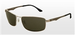 RB3498-004/71  - Gunmetal w/Green lens