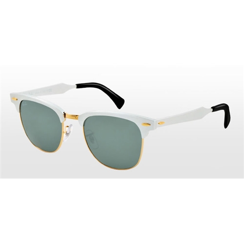 4217e16ac4 Sunglasses - Ray-Ban RB3507-137 40 - Clubmaster Aluminum - Brushed Silver arista  w Grey Mirror lens