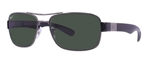 RB3522-004/9A  - Gunmetal w/Polar Green lens