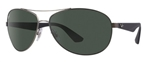 RB3526-029/9A  - Matte Gunmetal w/Polar Dark Green lens