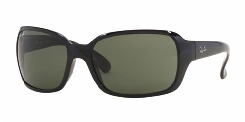 657920ded53 Sunglasses - Ray-Ban RB4068-601 - Rb4068 - Black w Crystal Green lens